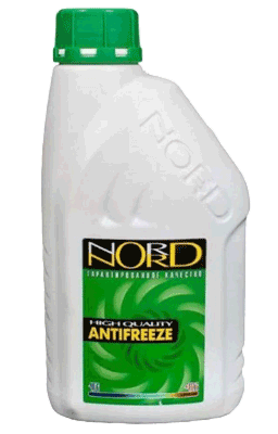 Антифриз NORD High Quality Antifreeze готовый -40C зеленый 1 кг