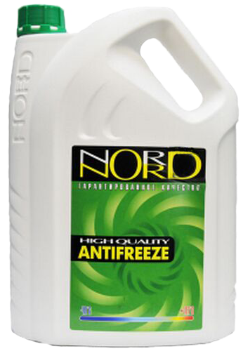 NG20362 Антифриз NORD High Quality Antifreeze готовый -40C зеленый 5 кг