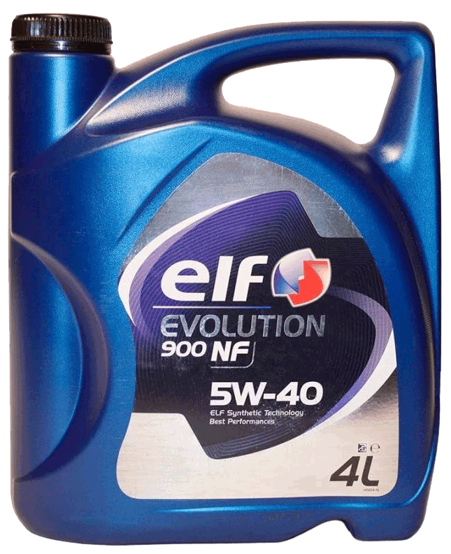 МАСЛО ELF EVOLUTION 900 NF 5W40 МОТ СИН (4Л)