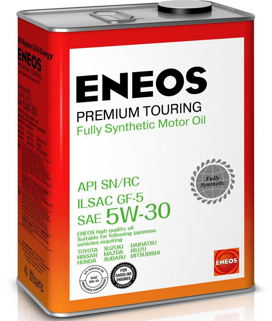 Масло моторное ENEOS Premium TOURING SN 5W-30 4л